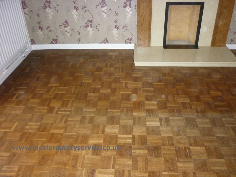 Restoration Of An Oak Finger Block Parquet Floor